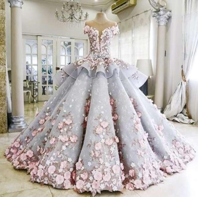 Vestidos que realizariam o sonho de muitas noivas