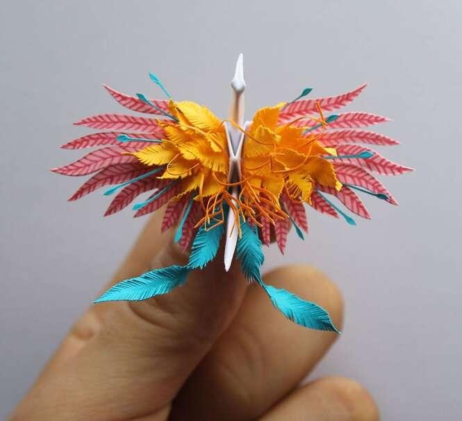 Os origamis deste artista vão te encantar