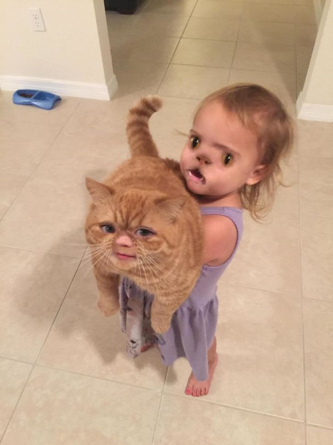 Vezes em que trocas de rosto com bebês originaram resultados hilários