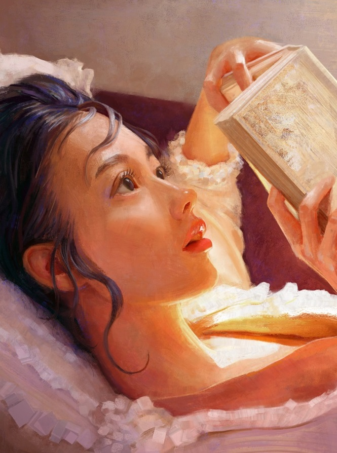 Artista retrata mulheres através de pinturas fascinantes