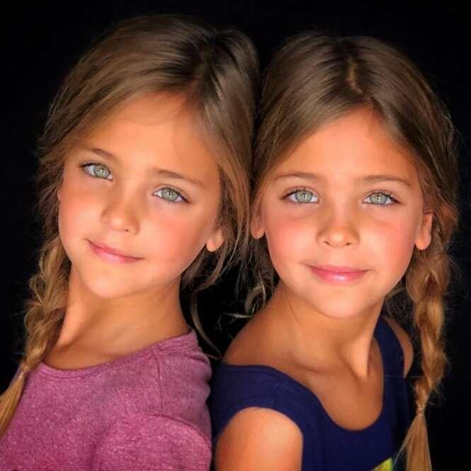 Estas lindas gêmeas arrasam no Instagram