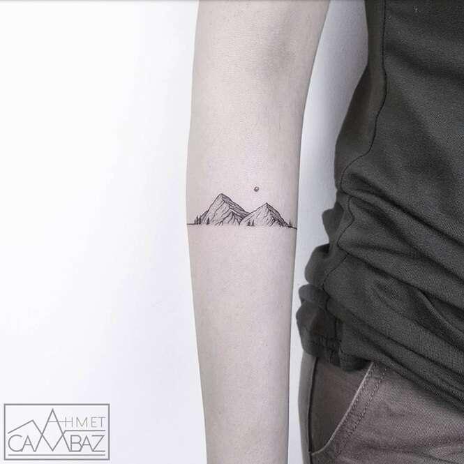 Tatuagens simples, porém incríveis que você vai desejar fazer