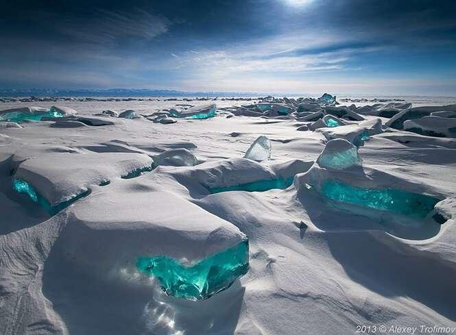 Formações de gelo e neve que mais parecem obras de arte