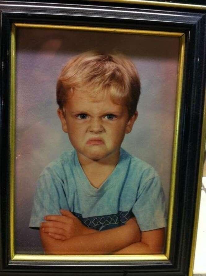 Fotos de crianças que vão arrancar ao menos um sorriso do seu rosto