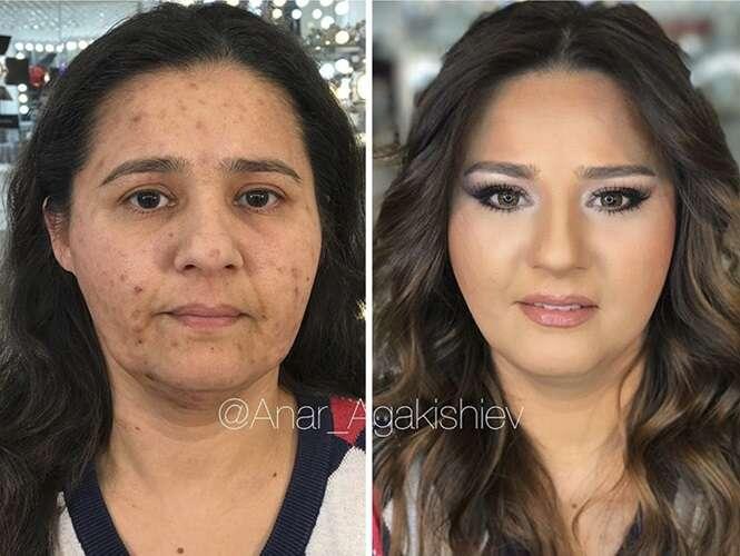 O poder da maquiagem, em 17 imagens