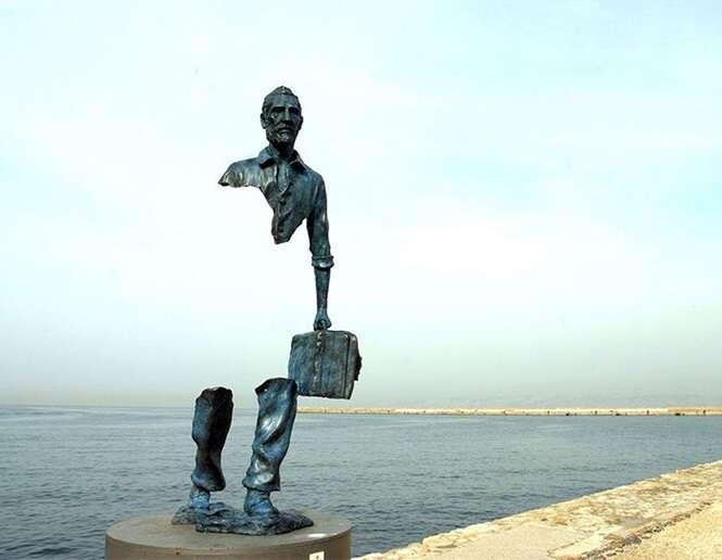 Esculturas que impressionam qualquer um