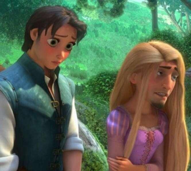 Trocas de rostos com personagens da Disney que vale a pena conferir