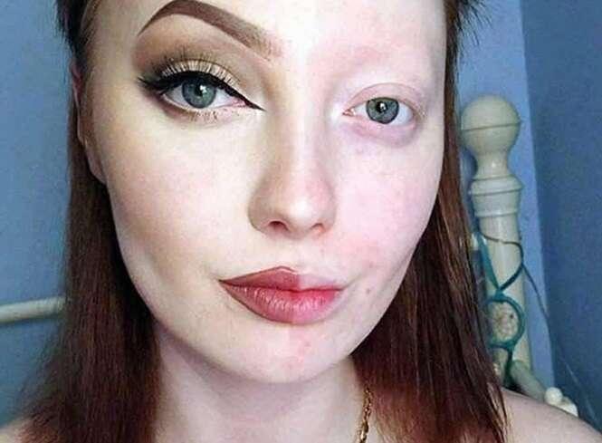 Provas de que maquiagem faz uma tremenda diferença