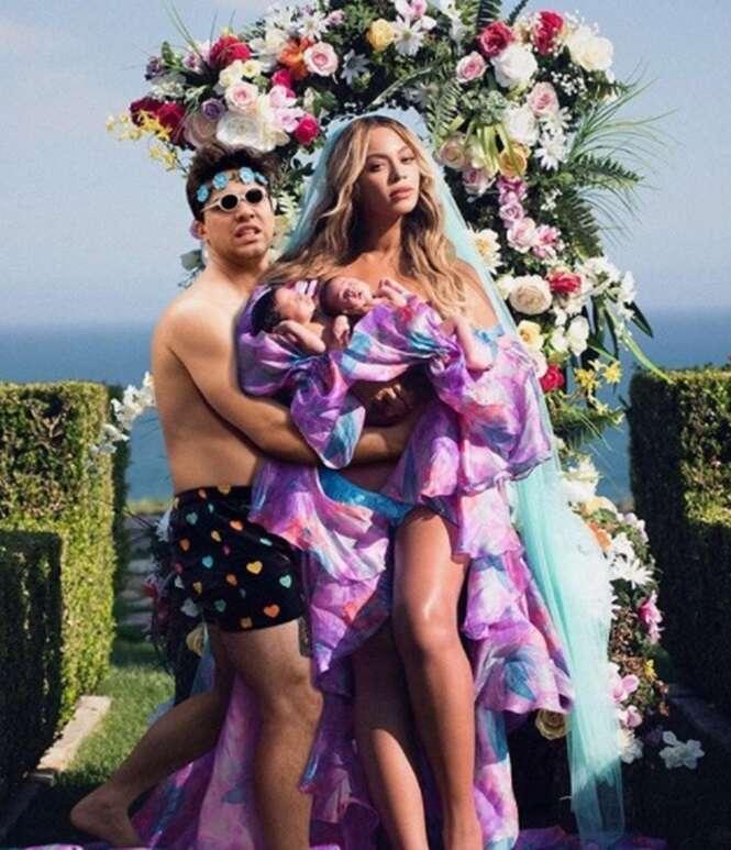"""Homem """"invade"""" fotos famosas de celebridades - o resultado é a coisa mais hilária que você verá hoje"""
