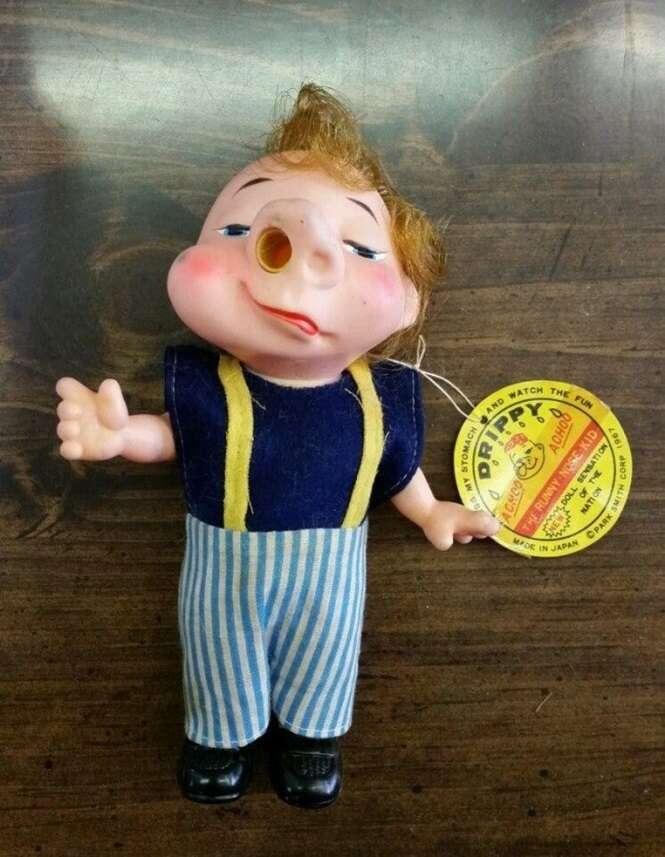 Brinquedos estranhos aparentemente criados por pessoas que não gostam de crianças