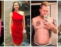 21 fotos inspiradoras de pessoas que perderam peso