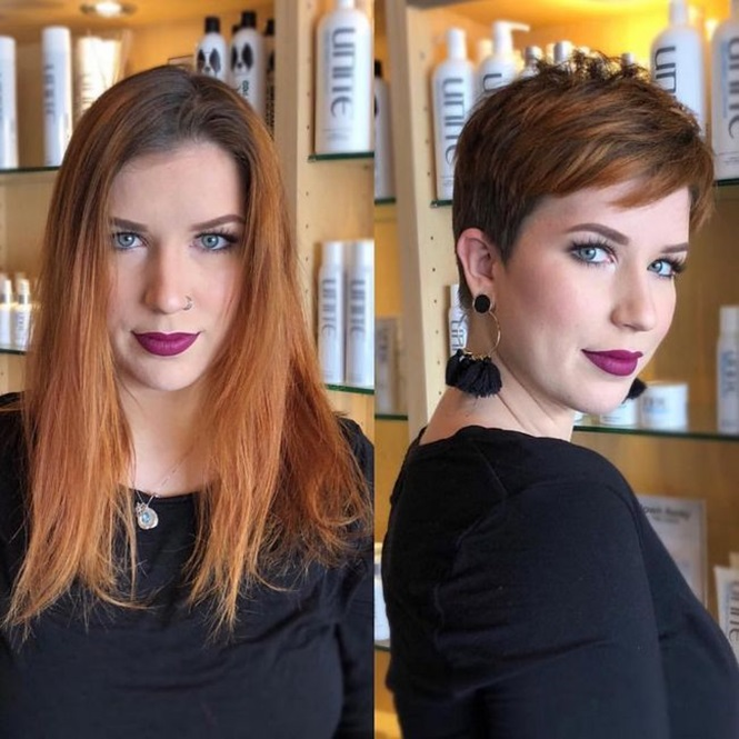 Mulheres que não tiveram medo de mudar o corte de cabelo e que ficaram maravilhosas