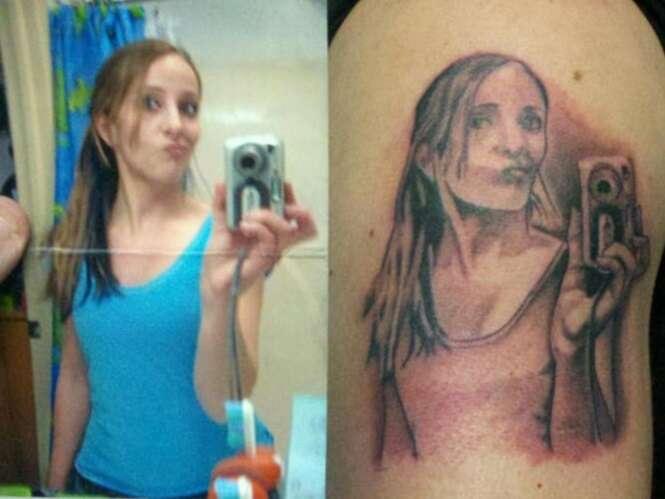 Pessoas que provavelmente se arrependeram das tatuagens que fizeram