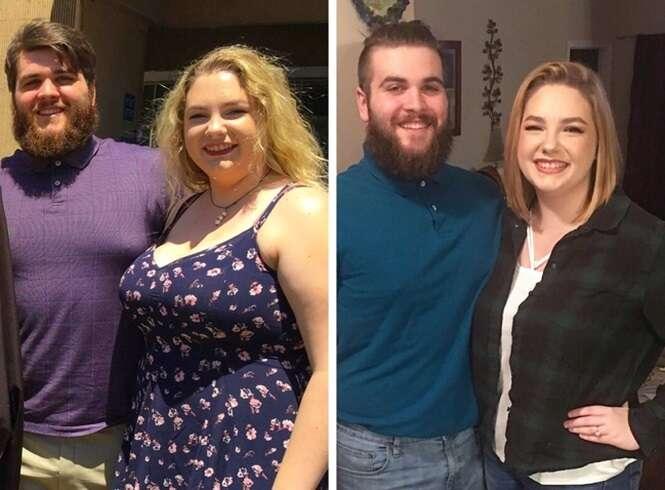 Fotos inspiradoras de pessoas que perderam peso