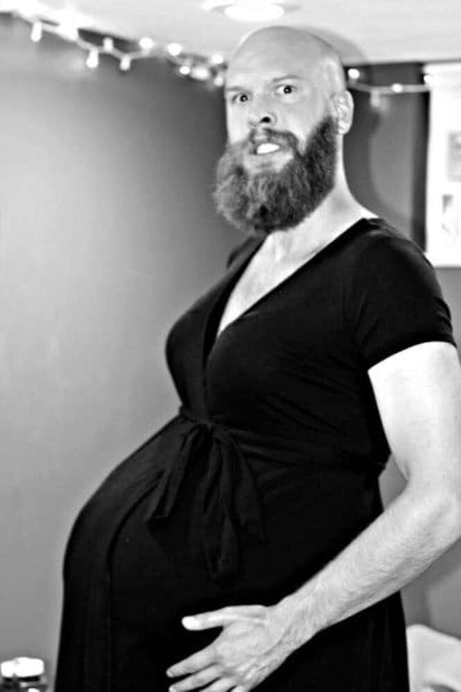 Fotos de gravidez um tanto esquisitas