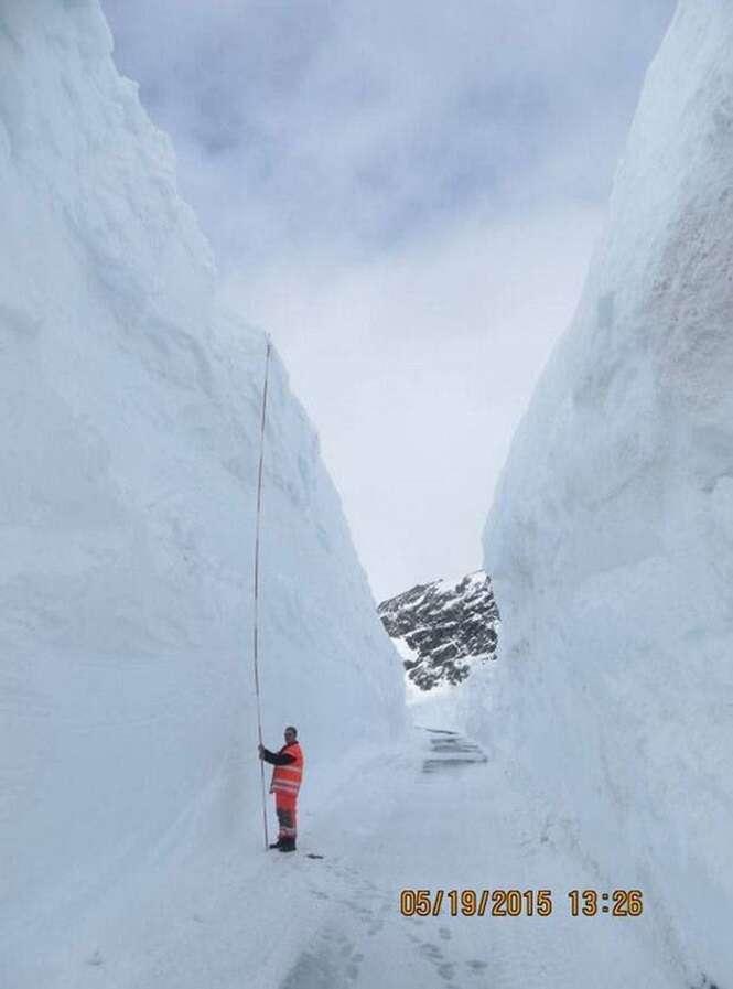 Fotos impressionantes mostrando o inverno em alguns lugares do mundo