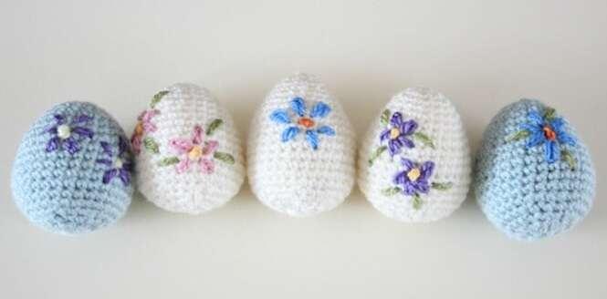 Crochês adoráveis inspirados na Páscoa