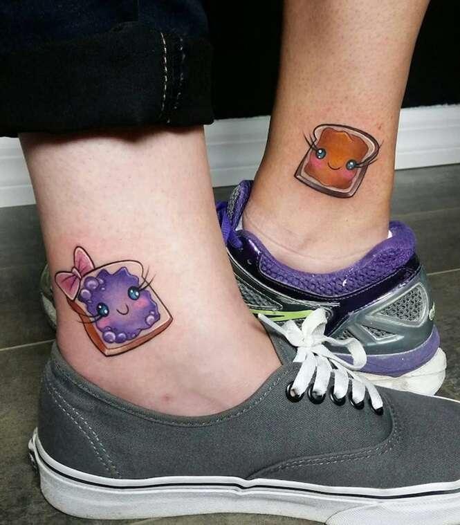 Tatuagens incríveis para irmãs