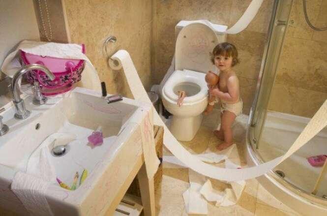Fotos que provam que crianças são uma inesgotável fonte de entretenimento