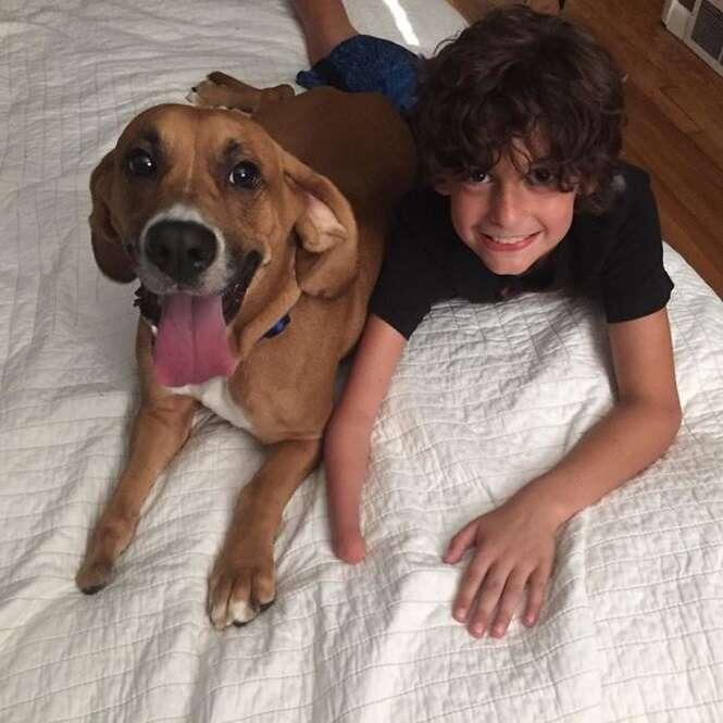 Se você ainda acha que seu filho não precisa de um cão, é porque não viu estas 13 imagens