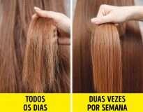 8 Erros que você possivelmente comete na hora de lavar o cabelo