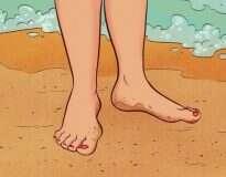 Como o corpo reage quando começamos a andar descalços com certa frequência